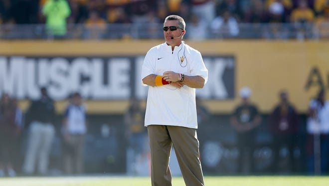 Todd Graham posted a touching tribute on his Twitter account Tuesday morning.