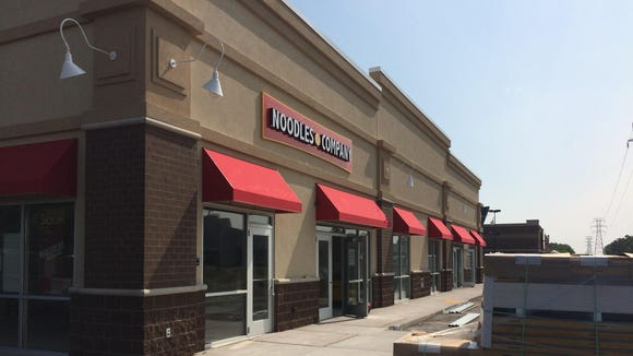 The new Noodles and Co. continues to progress on the