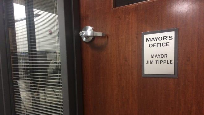 Wausau Mayor Jim Tipple's office.