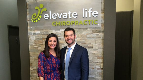 Dr. Wade Trzebiatowski and his wife, Danielle, are the owners of Elevate Life Chiropractic, which recently opened in Stevens Point.