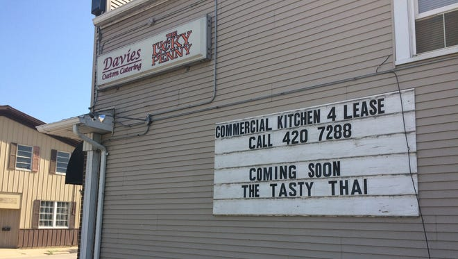 The Tasty Thai will open soon at 1027 S. Main St., next to The Lucky Penny.