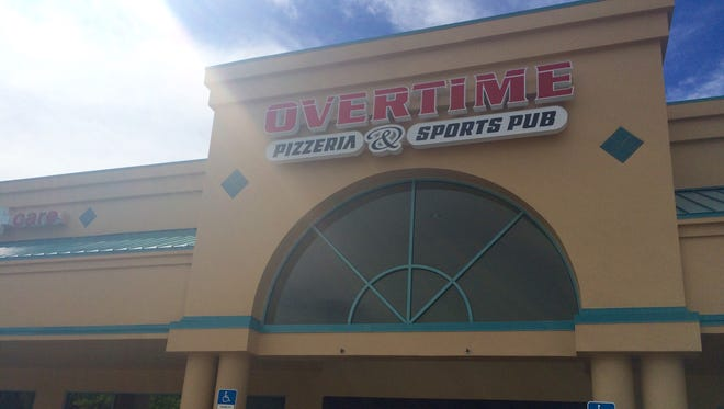 Overtime opened Sept. 10 in the former Dublin Ale House space in southwest Cape Coral.