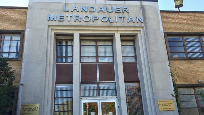 The former headquarters for Landauer Metropolitan at 1 Bradford Road in Mount Vernon.