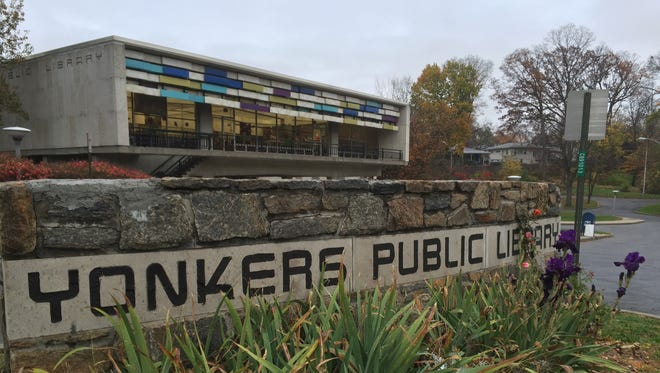 The Grinton I. Will branch of the Yonkers Public Library on Central Park Avenue.