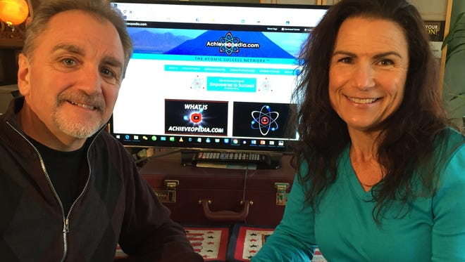 South Jersey couple Mario and Renee Pidnardo launched their online peer-to-peer empowerment portal on Jan 1.