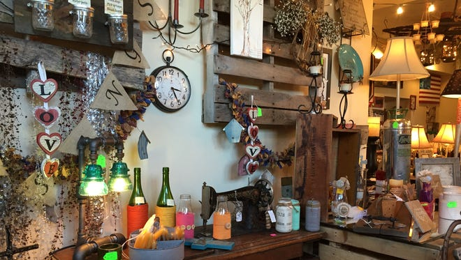 Random Harvest Marketplace sells home decor and other merchandise from local vendors.