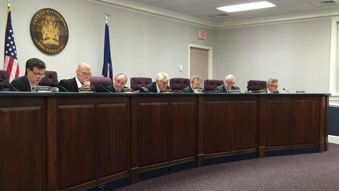 Waynesboro City Council met Tuesday night.