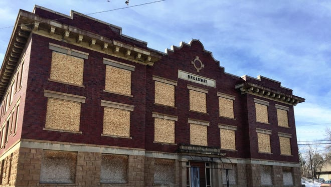The Broadway Apartments date from 1913, in the thick of Montana's homestead boom.