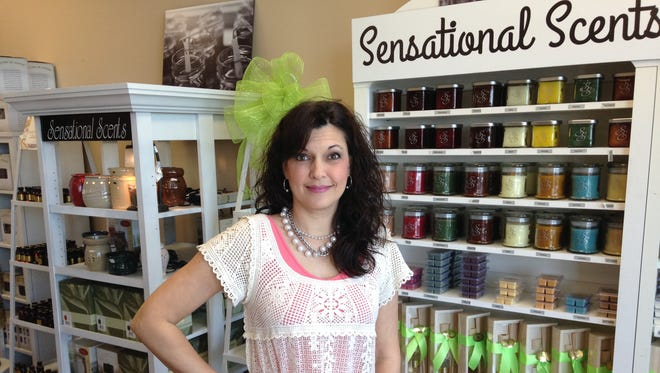 Cindy Whitsitt owns Sensational Scents & Gifts at 1370 C Union University Drive