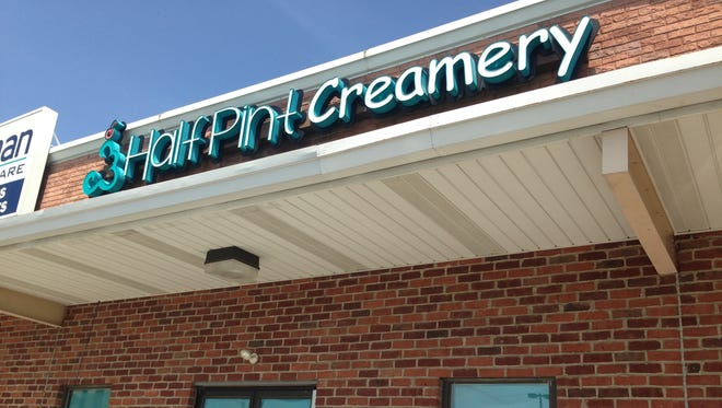 Half Pint Creamery's New Oxford location will open Monday.