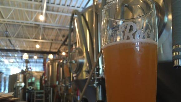 Roc Brewing's Azacca Pale Ale.