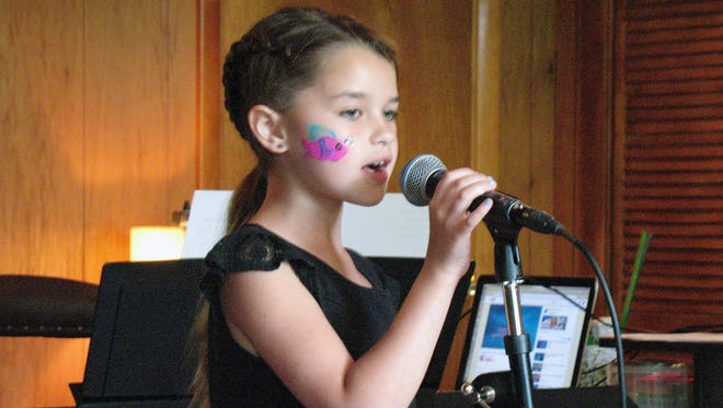Lexi Tokkos will perform at the Del Valle School of Voice recital Tuesday.