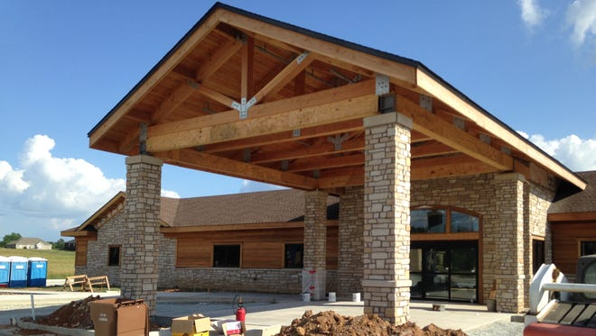 The Lexington Medical Clinic has a completion date targeted for late summer.