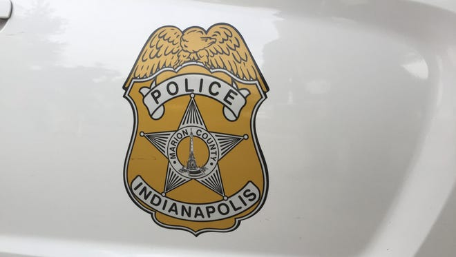 IMPD squad car.