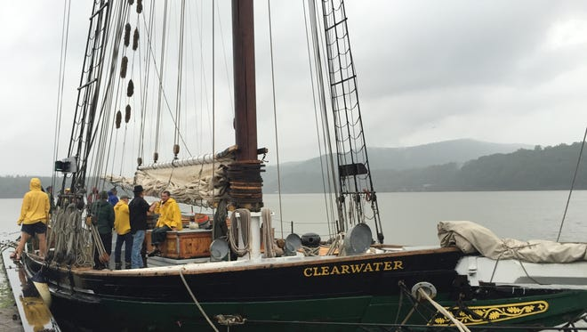 The Sloop Clearwater, as pictured in Cold Spring on Sunday.