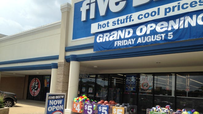 Five Below is holding its grand opening at 119 Stonebrook Place.
