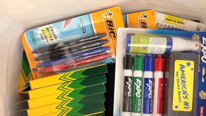 Organizations are accepting donations to help Louisiana teachers replenish school supplies.