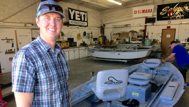 Justin Waayenberg of Adipose Boatworks in Helena says a loss of public access to land and streams would be devastating for outdoor recreation businesses.