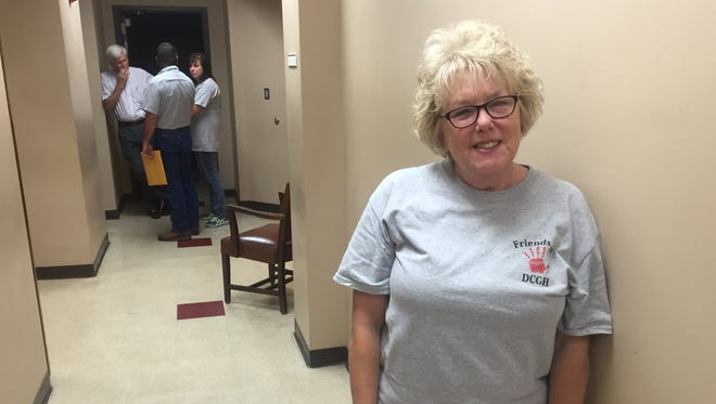 Roxanne Adkisson was a nurse at Decatur County General Hospital for 32 years and said she hopes the community can come together and agree on a plan to save it.