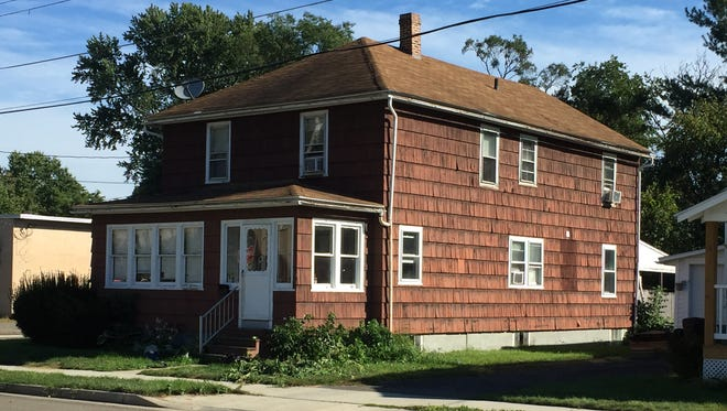 A residence at 3312 Lawndale St., in Endwell, where a woman is accused of 2011 disaster-related fraud.