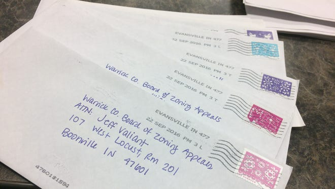 Hundreds of letters were sent to the Board of Zoning of Appeals regarding the Prime Foods Inc. Confined Egg Laying Facility