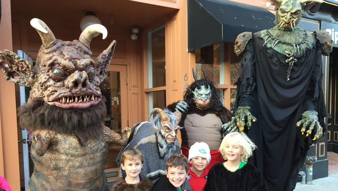 Asbury Park's Krampus-themed festivities, pictured here in 2015, return Dec. 2 and 3.