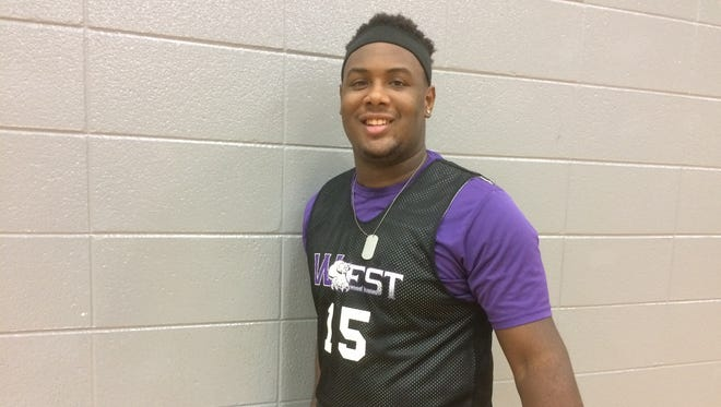Green Bay West senior Anthony King is a three-sport athlete for the Wildcats, competing in football, basketball and track.