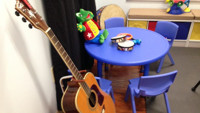 The STAR Center dedicated a new music therapy space geared toward small children Friday.