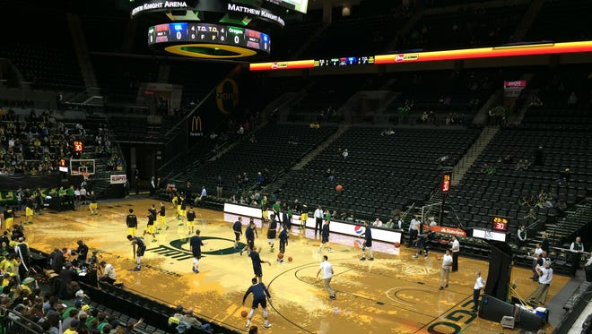Oregon faces Cal tonight at Matthew Knight Arena.