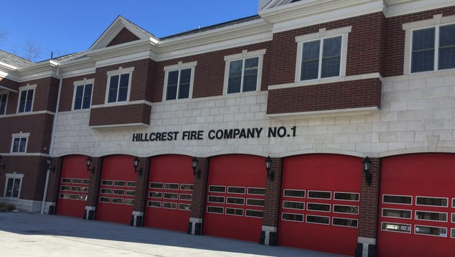 The new Hillcrest firehouse on Route 45.