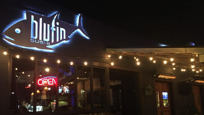 Blufin Sushi in Grosse Pointe Farms was open Tuesday evening and closed Wednesday due to safety concerns regarding a planned protest Wednesday evening.