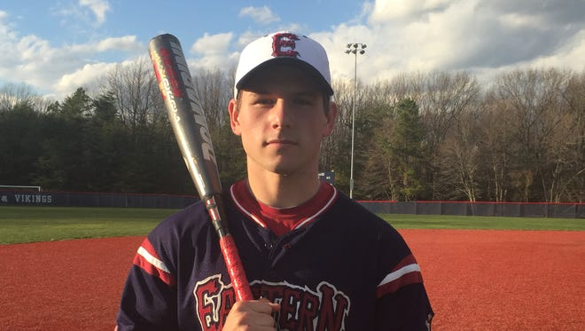 A four-year player at Eastern High School, third baseman Davis Schneider recently picked up his 100th career hit and is expected to be a leader for the Vikings this spring.