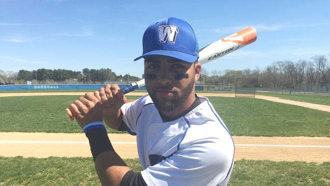 Williamstown senior shortstop Tommy Gibson is hitting .400 with a double, two home runs and seven RBIs.