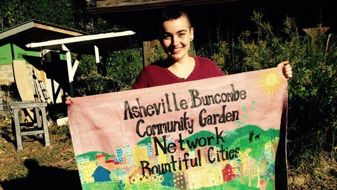 Carolina Arias, Bountiful Cities Asheville Buncombe County Community Garden Network Coordinator, will speak on a panel April 22 on saving seeds.