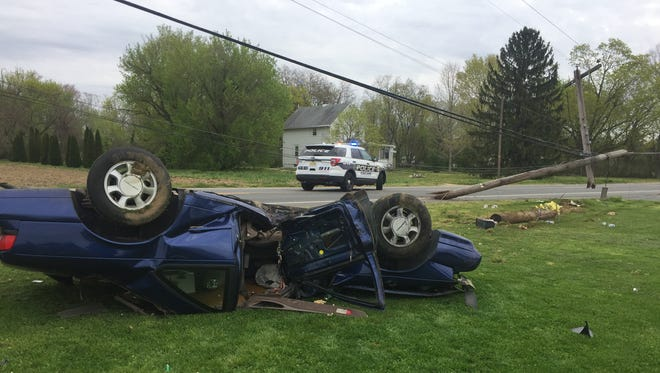 Police cited Jason R. Dibiase of Union Road with careless driving after a single-vehicle crash April 14 on Chestnut Avenue, near New Panther Road, Vineland.
