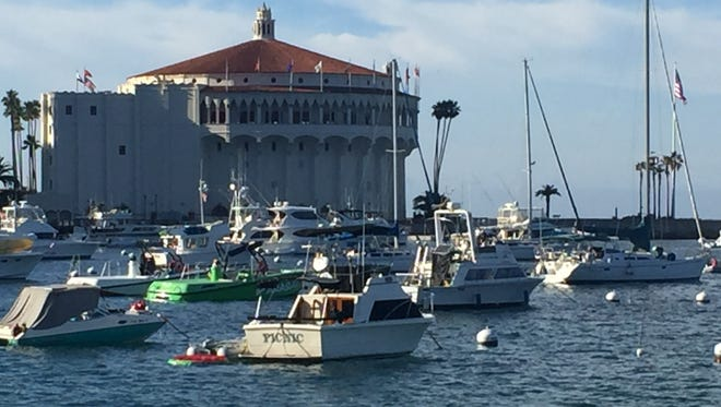 The Avalon Casino remains an iconic symbol of Catalina and contains a theater with more than 1,000 seats.