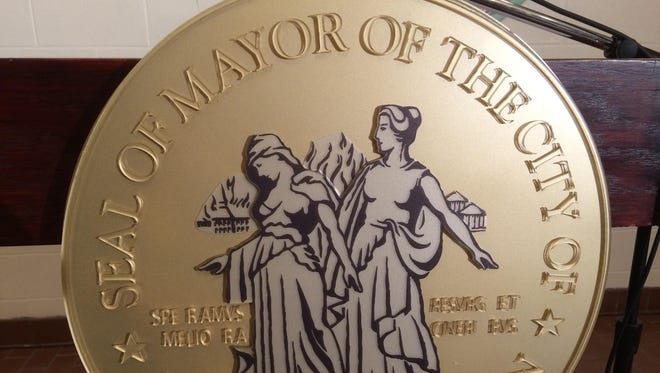 Seal of the mayor of the City of Detroit, Michigan.