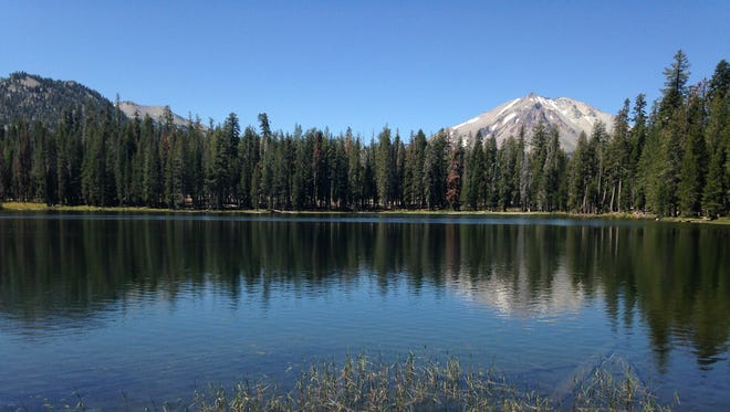 Summit Lake is a serene spot with nice views and access to activities. Near the lake are a picnic spot and 94-site campground.