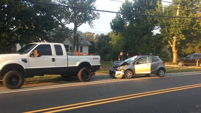 Vineland Police investigated a two-vehicle collision Sept. 18 on Almond Road, near Mill Road.