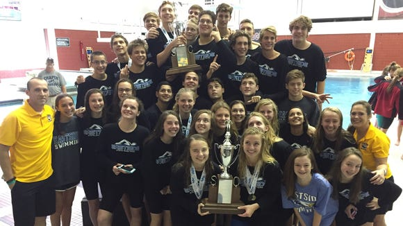 Eastside's boys and girls swim teams won Class AAAA