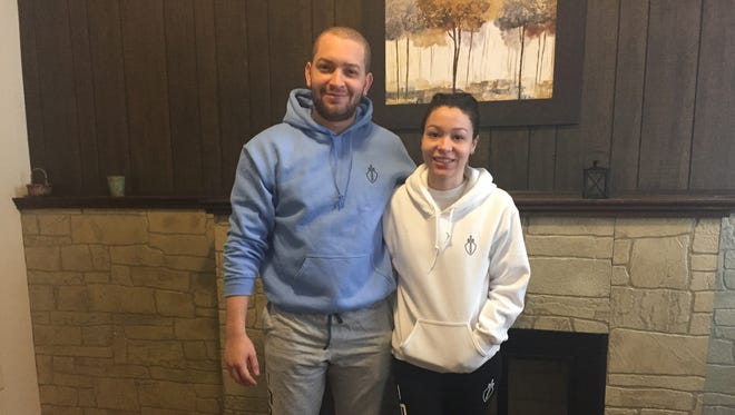 From right, Amaury and Anaury Abreu, siblings who have introduced their new Impera clothing line through their online business, Legatus Culture Co.