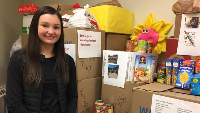 Windsor High School junior Alexis Green founded the Windsor Knight Pack when she was in sixth grade.