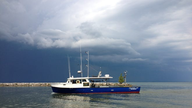 The research vessel Channel Cat will be doing a trawl survey Aug. 6-9 on Lake Erie.