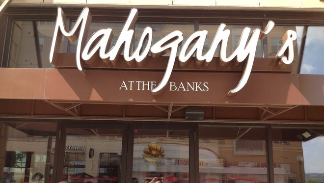 The exterior of Mahogany's at The Banks after it closed.