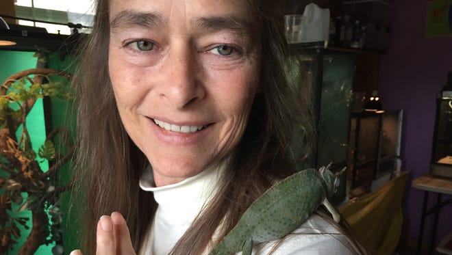 Cheryl Garcia, of Pemberville, is the reptile extension of Another Chance Sanctuary, based in Clyde.