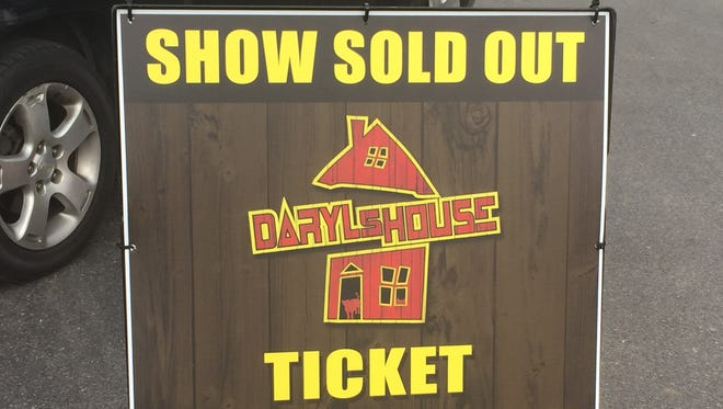 The inaugural show at Daryl's House in Pawling is sold out.