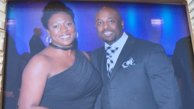 Rechelle and Paul Duncan. Paul Duncan was killed Friday in a wrong-way crash.