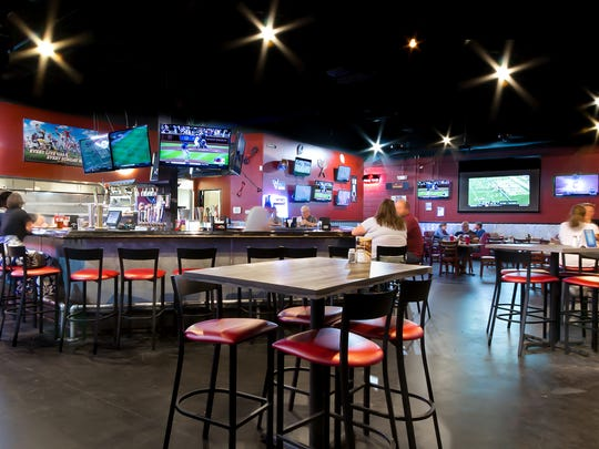 The Gym Sports Bar, which had a soft opening on Sept.