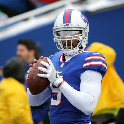 Tyrod Taylor will be the Bills quarterback today against