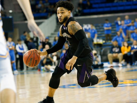 David Crisp has played heavy minutes for the Huskies